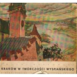 Antoni Waśkowski KRAKÓW W TWÓRCZOŚCI WYSPIAŃSKIEGO [antykwariat]