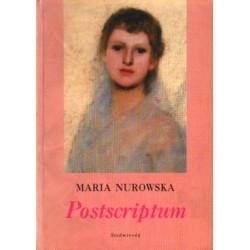 Maria Nurowska POSTSCRIPTUM [antykwariat]