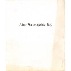 Alina Raczkiewicz-Bęc MALARSTWO [antykwariat]