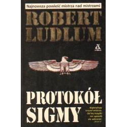 Robert Ludlum PROTOKÓŁ SIGMY [antykwariat]