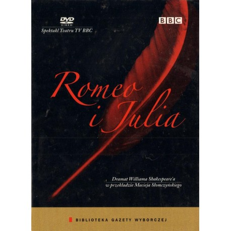 Willam Shepespeare ROMEO I JULIA + PŁYTA DVD [antykwariat]
