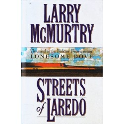 Larry McMurtry STREETS OF LAREDO [antykwariat]