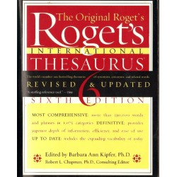 ROGET'S INTERNATIONAL THESAURUS. SIXTH EDITION (REVISED & UPDATED) [antykwariat]
