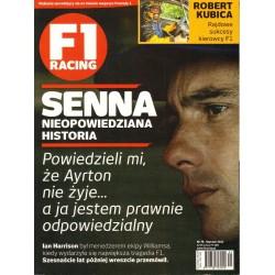 F1 RACING ROCZNIK 2010 (12 NUMERÓW) [antykwariat]