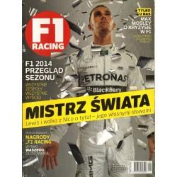 F1 RACING ROCZNIK 2015 Nr 126 – Przegląd sezonu 2014