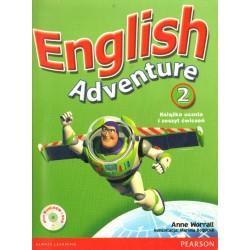 ENGLISH ADVENTURE 2. KSIĄŻKA UCZNIA Anne Worrall [antykwariat]