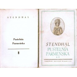 Stendhal PUSTELNIA PARMEŃSKA [antykwariat]