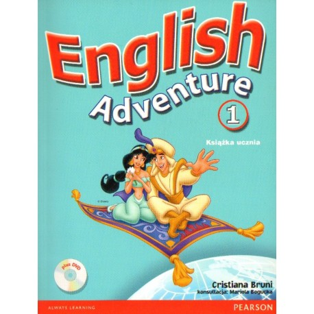 ENGLISH ADVENTURE 1. KSIĄŻKA UCZNIA [antykwariat]