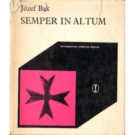 SEMPER IN ALTUM Józef Bąk [antykwariat]