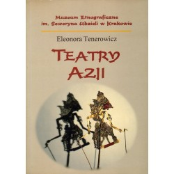 TEATRY AZJI Eleonora Tenerowicz [antykwariat]
