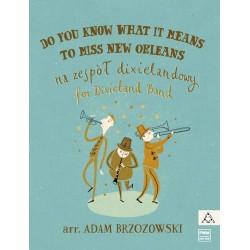 DO YOU KNOW WHAT MEANS TO MISS NEW ORLEANS NA ZESPÓŁ DIXIELANDOWY Adam Brzozowski