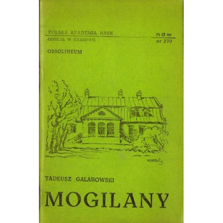 Tadeusz Galarowski MOGILANY [antykwariat]