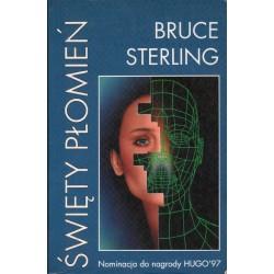 ŚWIĘTY PŁOMIEŃ Bruce Sterling [antykwariat]