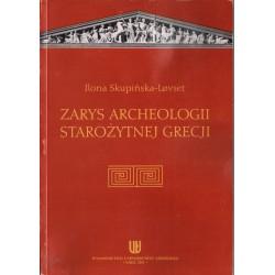 ZARYS ARCHEOLOGII STAROŻYTNEJ GRECJI Ilona Skupińska-Lovset [antykwariat]