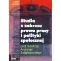 STUDIA Z ZAKRESU PRAWA PRACY I POLITYKI SPOŁECZNEJ. ROCZNIK 2008 [used book]