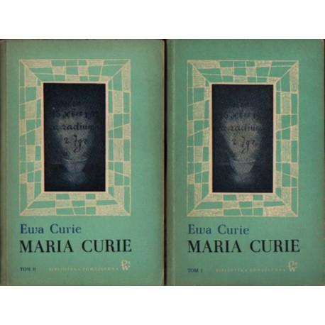 Ewa Curie MARIA CURIE [used book]
