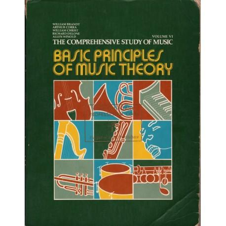 BASIC PRINCIPLES OF MUSIC THEORY. VOLUME VI [antykwariat]
