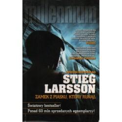 ZAMEK Z PIASKU, KTÓRY RUNĄŁ Stieg Larsson [antykwariat]