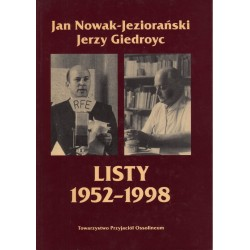 LISTY 1952-1998 Jan Nowak-Jeziorański, Jerzy Giedroyc [antykwariat]