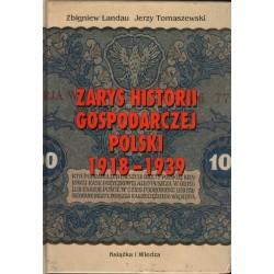 ZARYS HISTORII GOSPODARCZEJ POLSKI 1918-1939 [antykwariat]