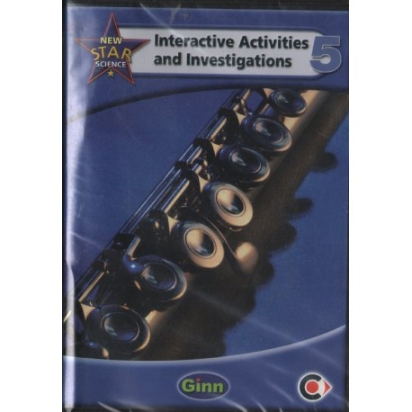 NEW STAR SCIENCE 5: INTERACTIVE ACTIVITIES AND INVESTIGATIONS [CD] [antykwariat]