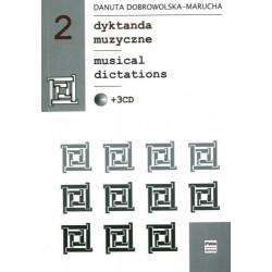 DYKTANDA MUZYCZNE 2 +3CD Danuta Dobrowolska - Marucha