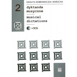 MUSICAL DICTATIONS 2 +3CD Danuta Dobrowolska - Marucha