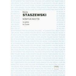 SONITUS NOCTIS NA GITARĘ Maciej Staszewski