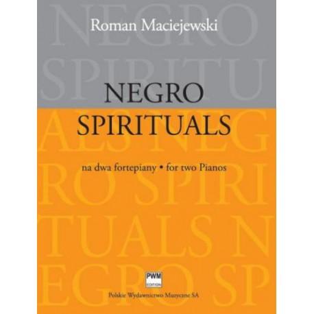 NEGRO SPIRITUALS NA DWA FORTEPIANY Roman Maciejewski