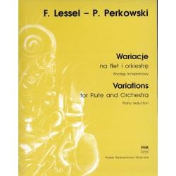 WARIACJE NA FLET I ORKIESTRĘ Franciszek Lessel