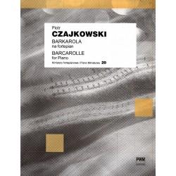 BARKAROLA NA FORTEPIAN Piotr Czajkowski