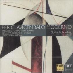 PER CLAVICEMBALO MODERNO Gośka Isphordin-klawesyn [CD]
