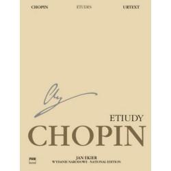 Fryderyk Chopin: ETIUDY NA FORTEPIAN OP. 10, 25 [antykwariat]