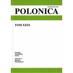 POLONICA TOM XXIX