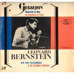 George Gershwin BŁĘKITNA RAPSODIA / AMERYKANIN W PARYŻU [płyta winylowa używana]