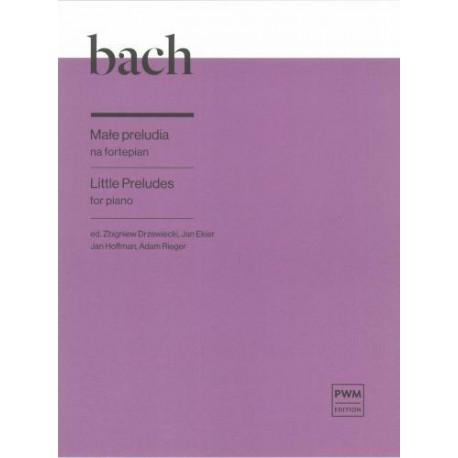 Johann Sebastian Bach LITTLE PRELUDES FOR PIANO