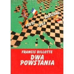 DWA POWSTANIA Francis Billotte [antykwariat]