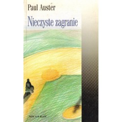 NIECZYSTE ZAGRANIE Paul Auster [antykwariat]