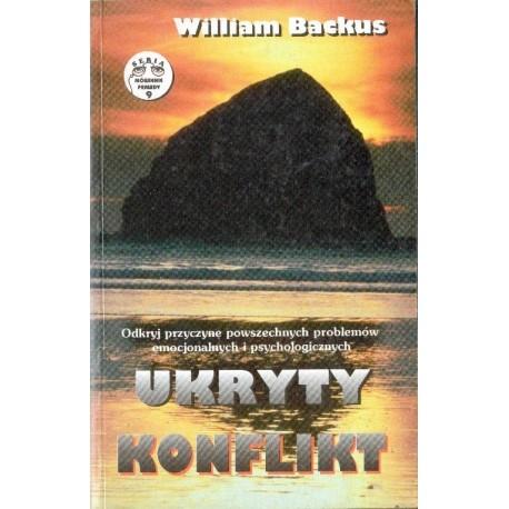 UKRYTY KONFLIKT William Backus [antykwariat]