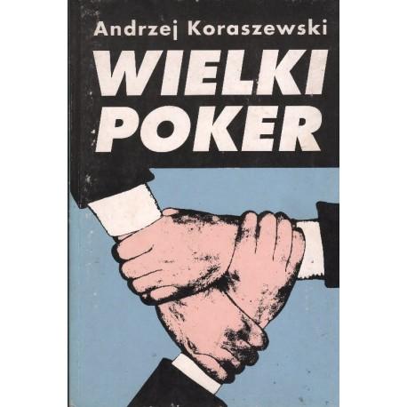 WIELKI POKER Andrzej Koraszewski [antykwariat]