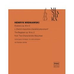 Henryk Wieniawski DUDZIARZ OP. 19 NR 2 NA SKRZYPCE I FORTEPIAN