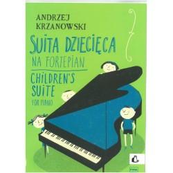 SUITA DZIECIĘCA NA FORTEPIAN Andrzej Krzanowski