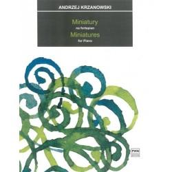 MINIATURY NA FORTEPIAN Andrzej Krzanowski
