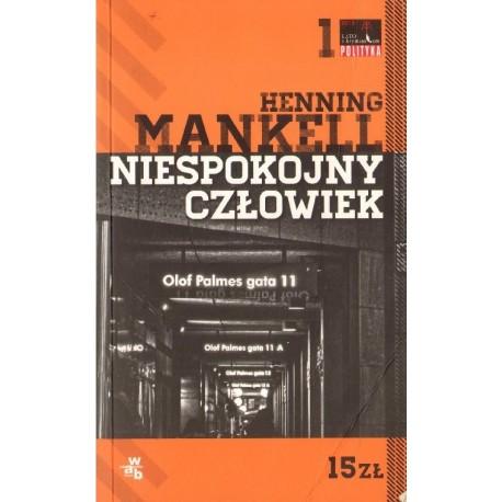 NIESPOKOJNY CZŁOWIEK Henning Mankel [antykwariat]