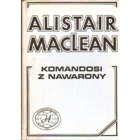 KOMANDOSI Z NAWARONY Alistair MacLean [antykwariat]