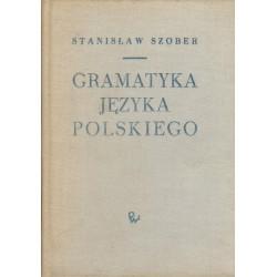 GRAMATYKA JĘZYKA POLSKIEGO Stanisław Szober [antykwariat]