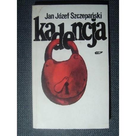Jan Józef Szczepański KADENCJA [antykwariat]