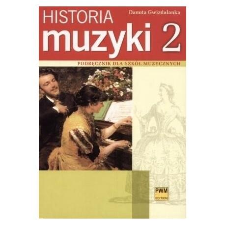 HISTORIA MUZYKI. CZĘŚĆ 2 Danuta Gwizdalanka