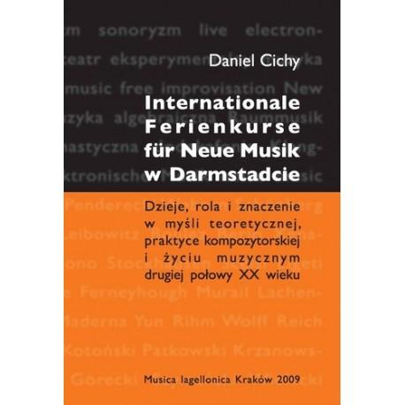 Daniel Cichy INTERNATIONALE FERIENKURSE  FUR NEUE MUSIK W DARMSTADCIE