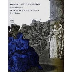 DAWNE TAŃCE I MELODIE NA FORTEPIAN. CZĘŚĆ 1 Jan Hoffman, Adam Rieger